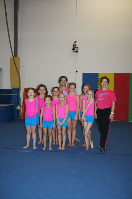 Little Pearls Classes, 4-6 & 7 years old - Pink Pearl Gymnastics