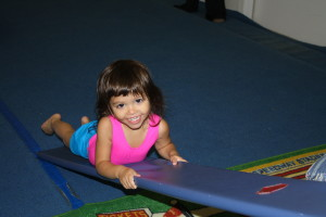 gymnastics building muscle