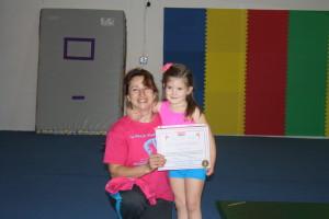 Gymnastics achievement
