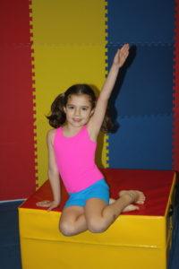 posing for gymnastics